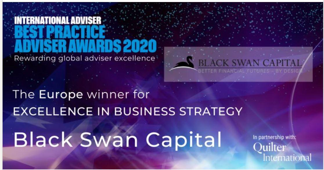 Black Swan Capital win two Europe Best Practice Awards 2020